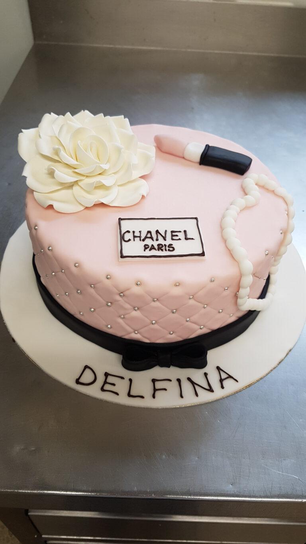 Geburtstagstorte Chanel Hut