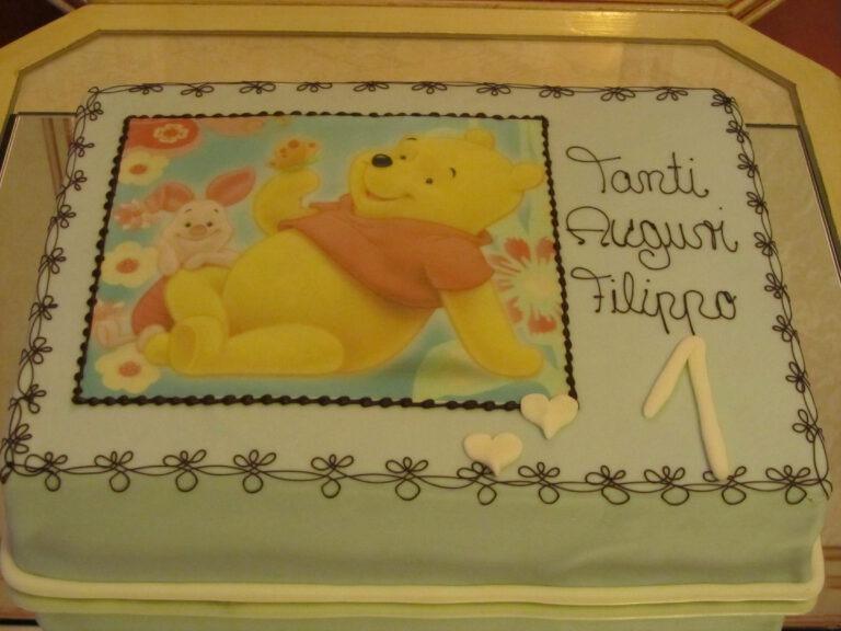 Geburtstagstorte Winnie Puh
