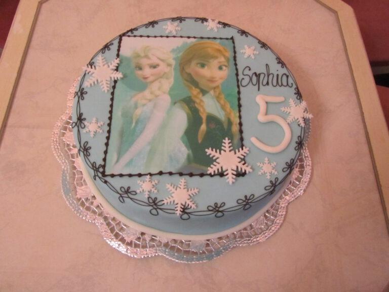 Geburtstagstorte Disney Eiskönigin